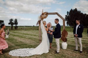 Real Weddings Figbird Cottage